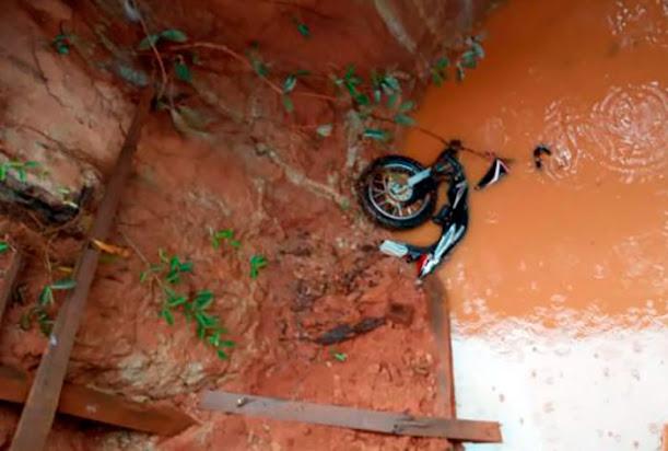 Agora Guajará: Homem morre em acidente na 6ª linha do Ribeirão em Nova Mamoré