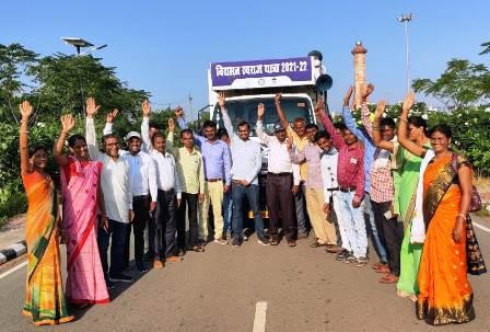विश्व विरासत स्वराज यात्रा के जरिए  गांधी  के विचारों से स्वराज लाने की कवायद