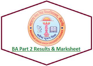 MGSU BA 2nd Year Result 2021