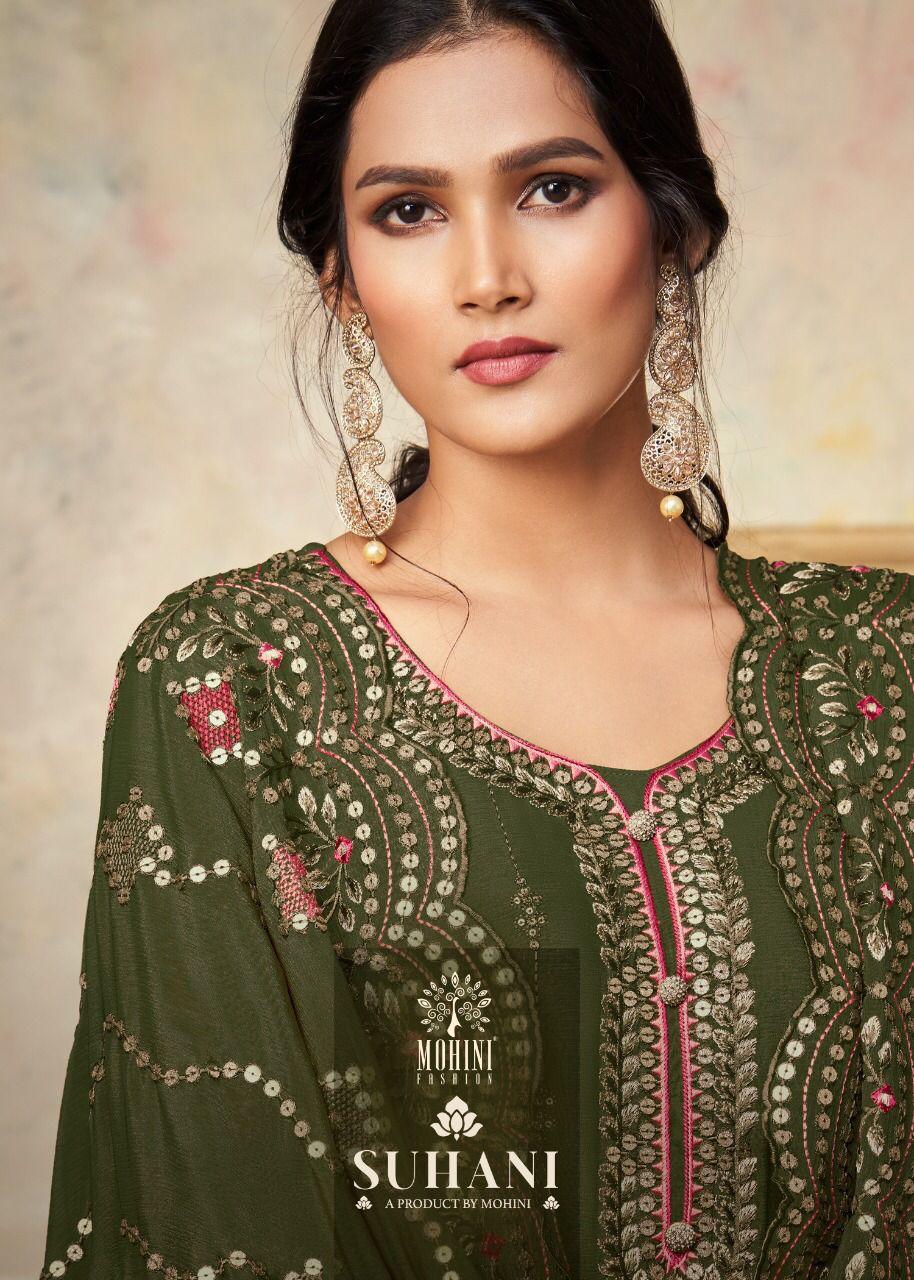 Mohini Fashion Suhani 701 Plazzo Style Suits Catalog Lowest Price