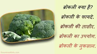 ब्रोकली खाने के फायदे और नुकसान   broccoli benefits and side effects in hindi