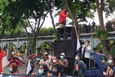 Aliansi LSM dan Mahasiswa Demo PDAM, Tuntut Audit Lembaga Independen dan Berikan Rapor Jembreet