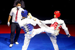 Muhammad Bassam Raihan dari Jakarta Raih Emas di Cabor Taekwondo PON XX