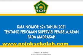 Download KMA 624 Tahun 2021 Tentang Pedoman Supervisi Pembelajaran Di Madrasah