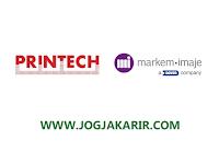 Loker Jogja Service Engineer (Teknisi) di Printech Group