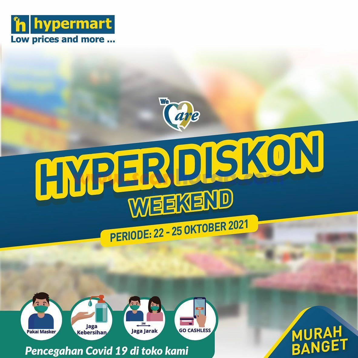 Promo Hypermart Weekend Terbaru 22 - 25 Oktober 2021 1