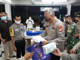 Pos Kamling RW 07 Kel. Keramat Pela Kec. Kebayoran Baru Dikunjungi Ditbinmas Polda Metro Jaya