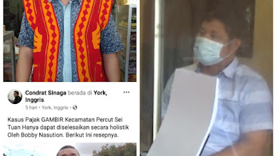 Unsur Sara, Pemilik Akun Condrat Sinaga Dipolisikan Warga Kabupaten Nias.