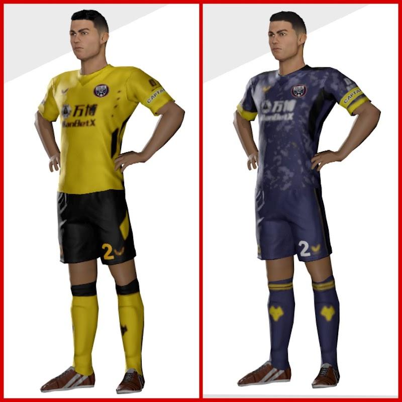 Kit Wolverhampton 2022 Dream League Soccer