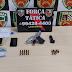 Força Tática detém homem por posse ilegal de arma de fogo