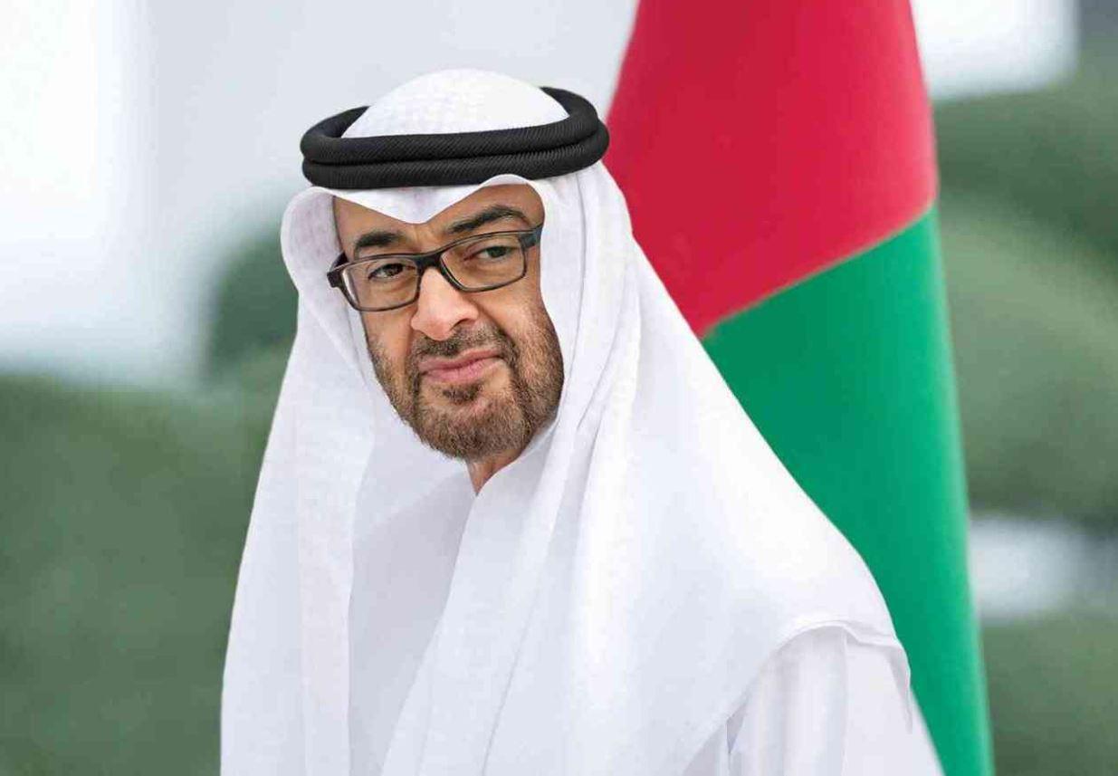 محمد بن زايد يزور جناح الفرص الذي يضم ملتقى الأمم المتحدة في إكسبو Expo Dubai دبي