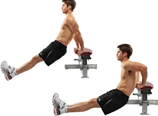Strength Training For Home - Bench dips