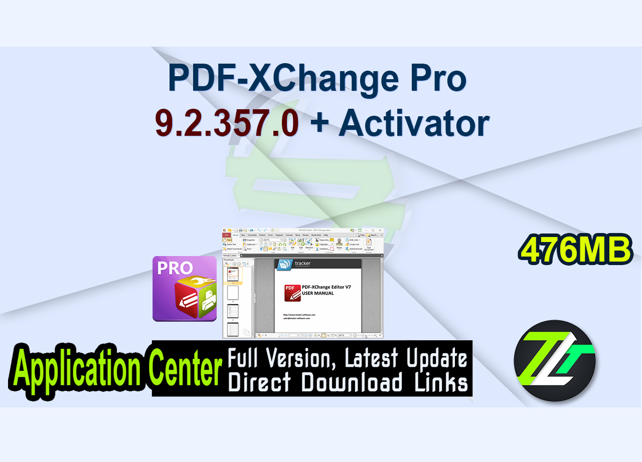 PDF-XChange Pro 9.2.357.0 + Activator