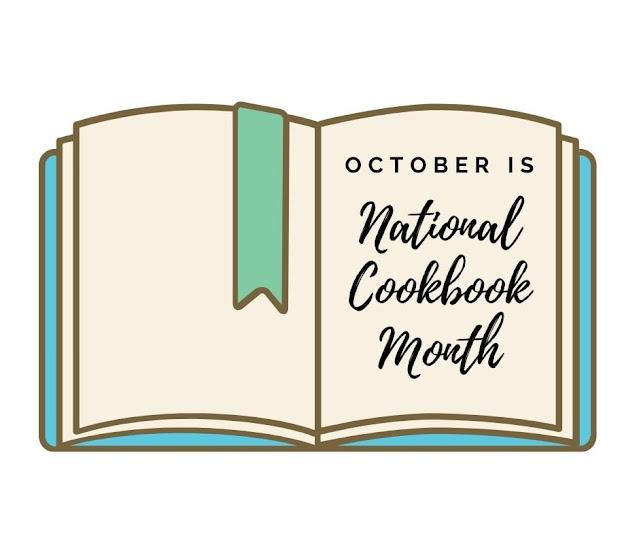 National cookbook month badge