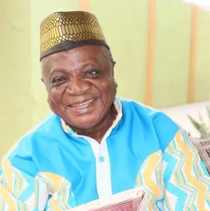 Legendary Ghanaian Highlife Musician Nana Ampadu passes away