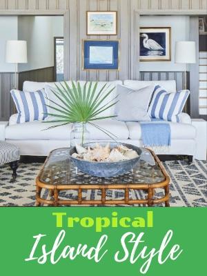 Tropical Palm Island Style Decor Design Ideas Interior Images