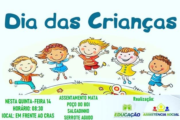 Secretarias de Educação e Assistência Social de Amparo desenvolvem Projeto Itinerante do Dia da Criança