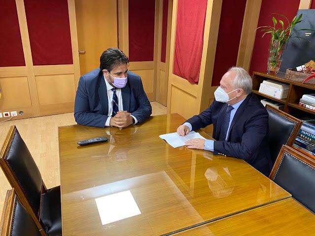 Συνάντηση Ανδριανού με Λιβάνιο για το Κτηματολόγιο και το Σχέδιο πόλης Άργους (νότιο τμήμα)