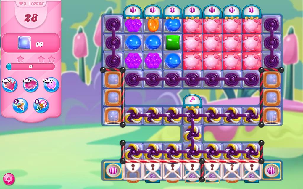 Candy Crush Saga level 10068