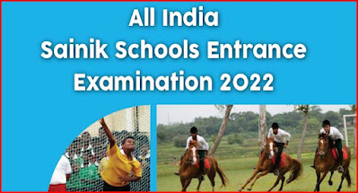 All India Sainik School Class 6th, 9th Entrance Exam AISSEE 2022 Notification, Schedule, Online Application