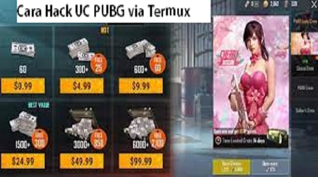 Cara Hack UC PUBG via Termux