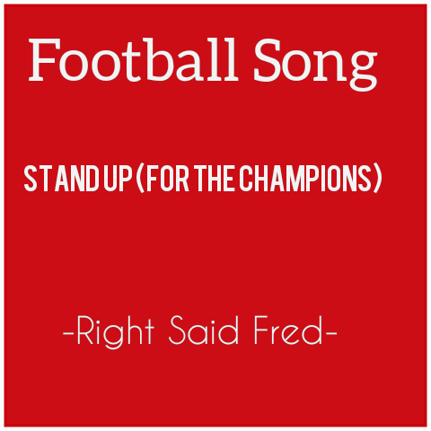 Right Said Fred-Stand Up For The Champions MP3 +lyrics and video