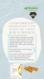 Testimoni NutriFeron Shaklee untuk Tingkatkan Imunisasi Badan