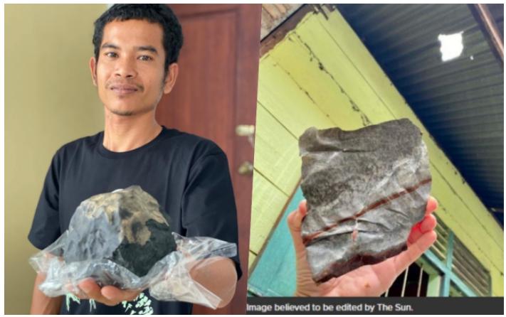 """Isang Karpintero naging """"INSTANT MILYONARYO"""" matapos ibenta ang """"METEORITE"""" na bumagsak sa kaniyang bahay"""