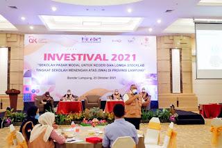 Melalui Investival, OJK mengedukasi Mahasiswa dan Pelajar mengenai Pasar Modal