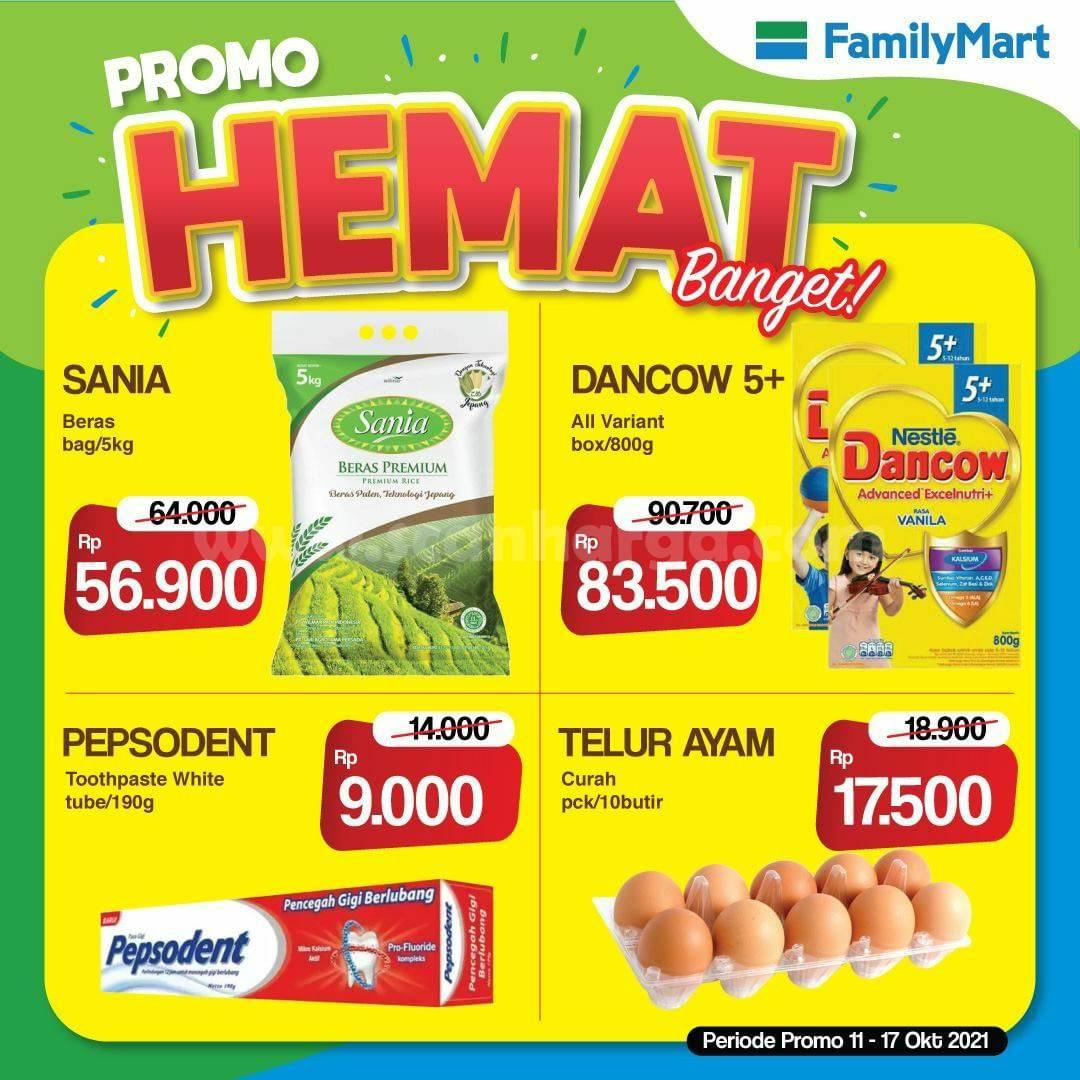Promo FamilyMart Hemat Banget Periode 11 - 17 Oktober 2021