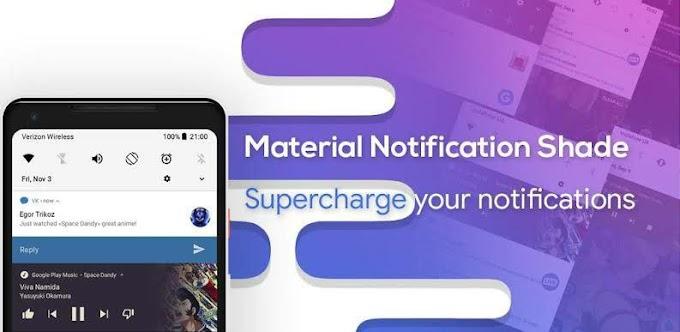 Material Notification Shade v18.1.5 Pro APK