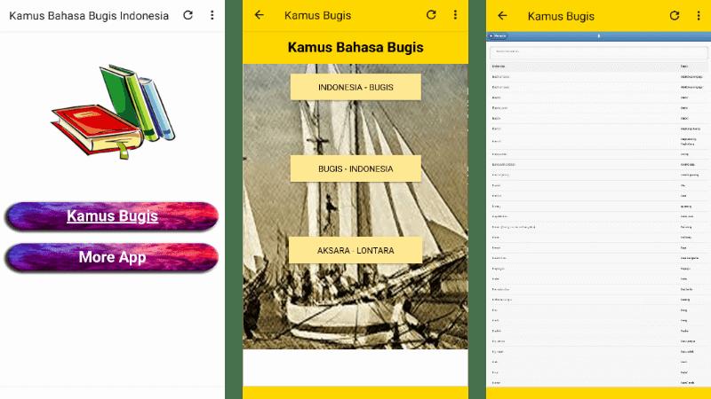 Kamus Bahasa Bugis Indonesia Lengkap Offline