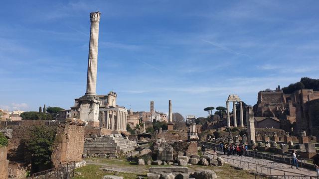 The Column of Phocas byzantium.filminspector.com