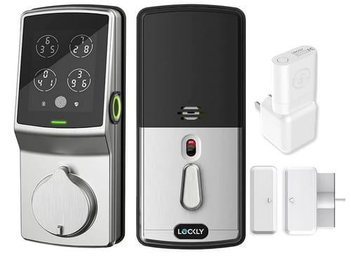 Lockly PGD728WSN Secure Pro Wi-Fi Smart DeadBolt Fingerprint
