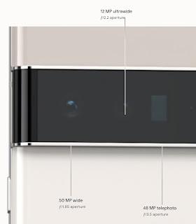 new horizontal camera and a triple camera system.