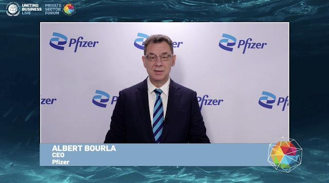 CEO Pfizer: Orang yang Tak Vaksin akan Mengimunisasi Diri Mereka Sendiri secara Alami