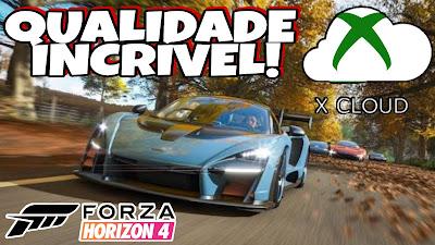 Forza Horizon 4 XCLOUD Brasil