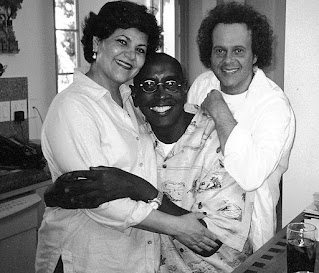 Picture of Richard Simmons with her parents
