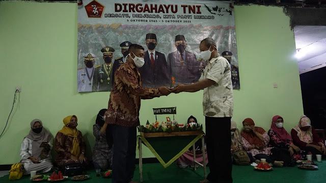 Koramil Kaligondang Purbalingga Persembahkan Aula Baru Sebagai Kado HUT TNI