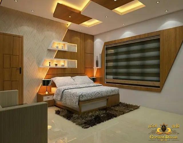 غرف نوم بسيطة ورقيقة