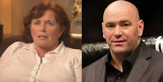 Dana White picture attached with his mother June