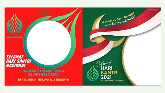 Link Download Frame Twibbonize Hari Santri Nasional 22 Oktober 2021