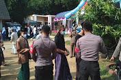 Jajaran Polres Serang Lakukan Pengamanan Vaksinisasi di Ponpes Jamiatul Ikhwan
