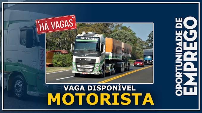 Transportadora Buturi abre vagas para motorista carreteiro em 5 estados