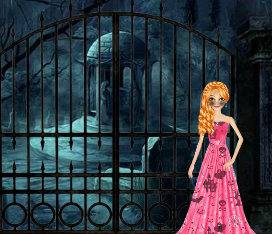 Play Games2Mad Halloween Magic Lady Escape