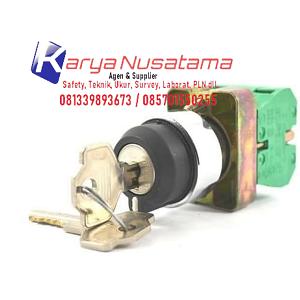 Jual Key Selector Switch LAY5-BG21 di Sidoardjo