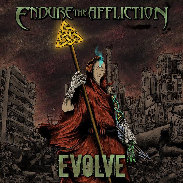 Behind The Artworks: Endure The Affliction - Evolve (2021)