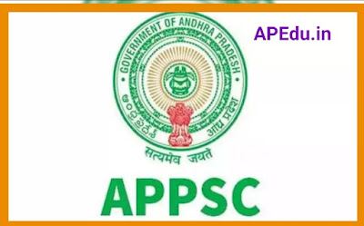 APPSC Notification for replacement of 38 posts
