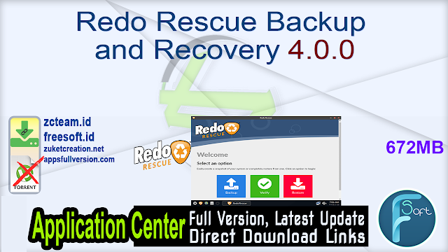 Redo Rescue Backup and Recovery 4.0.0