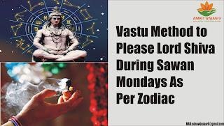 Vastu Method to Please Lord Shiva During Sawan Mondays According To The Zodiac